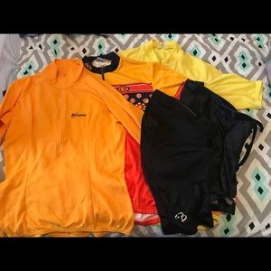 Lot of Cycling Clothes